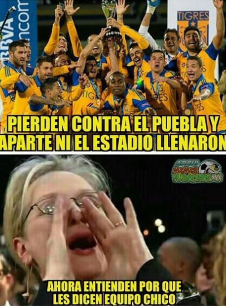 Tigres memes inicio del Clausura 2018