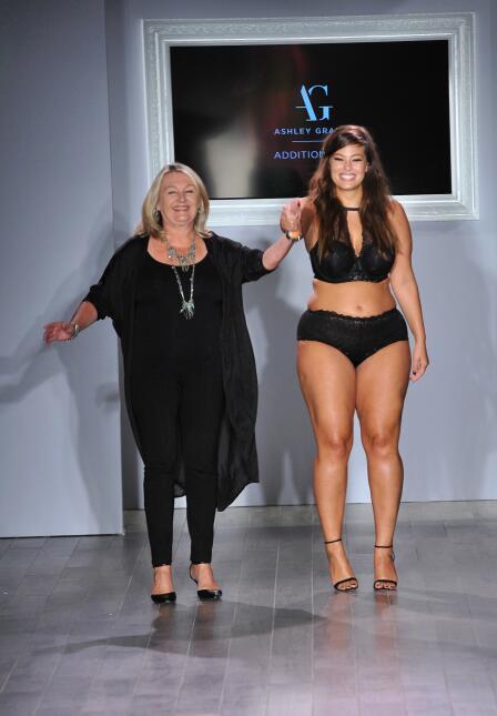 Modelo Talla Grande en la New York Fashion Week 2015