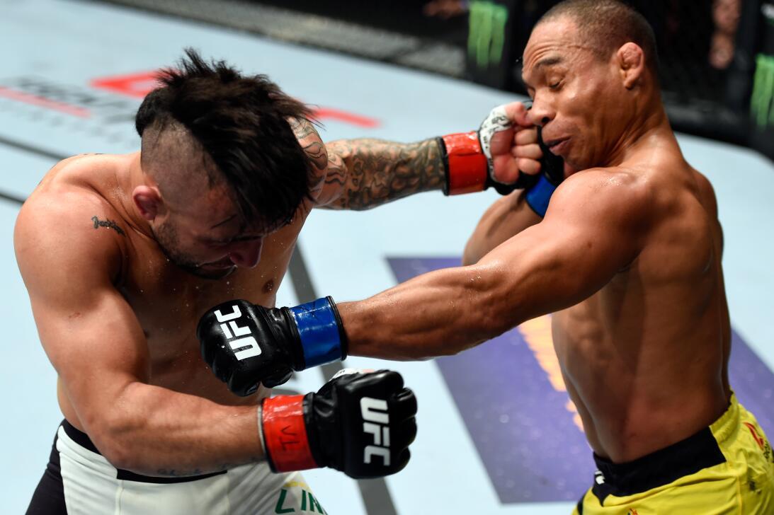 Golpes directos captados en el momento exacto en la UFC John Lineker Joh...