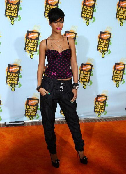 Los Nickelodeon's Kids Choice Awards permitieron que Rihanna se pusiera...