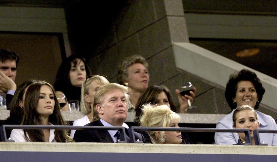 Donald Trump ve la final del US Open de 2011, entre Venus y Serena Willi...