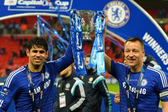 El conjunto azul se impuso por 2-0 con gol de Terry en el primer tiempo...