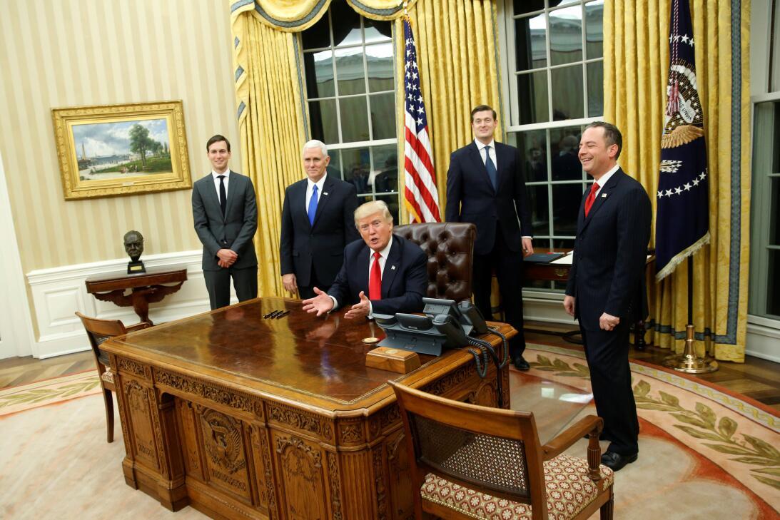 Oval Office Trump