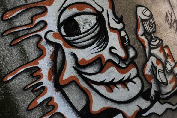 Los creadores de graffitis en Brasil buscan que sean reconocidas sus obr...