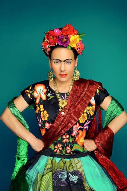 Maribel Guardia como Frida Kahlo