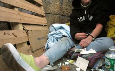 Epidemia, indigencia y muertes, los crueles efectos del consumo de drogas