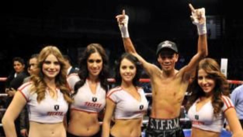 Rojas derrotó a Zárate por decisión (Foto: Zanfer twitter)