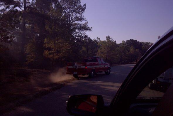 Estas fotos fueron tomadas en el Condado de Montgomery, donde todavía se...