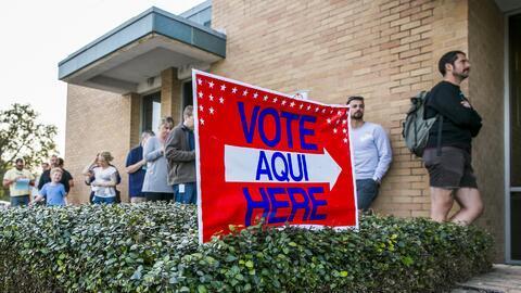 En más de 30 estados es posible registrarse para votar por internet.