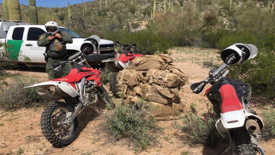 Decomisos de marihuana en la frontera de Arizona Decomiso de droga 1.jpg