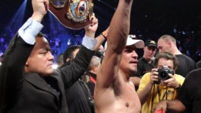 El boxeador mexicanoJuan Manuel Márquez.