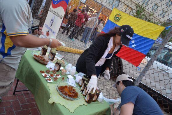 Madrugaron los venezolanos