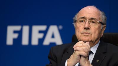 El aún presidente de la FIFA desea dejar buena cuentas en el orga...