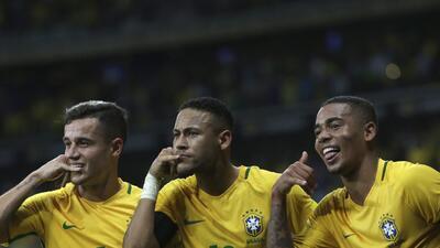 Brasil estuvo de fiesta en el clásico contra Argentina