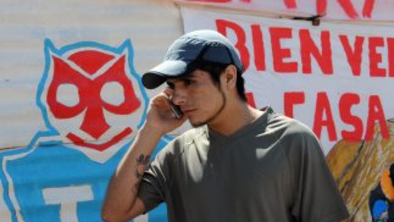 Carlos Bugueño volvió a su pueblo tras el rescate, Til Til.
