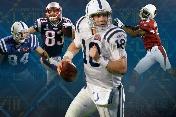 5. Veteranos del Super Bowl: Habrá cuatro jugadores en el Super Bowl XLV...
