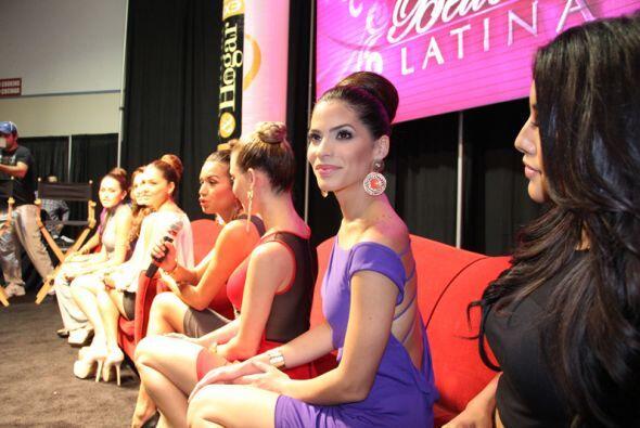 Las chicas de Nuestra Belleza Latina.