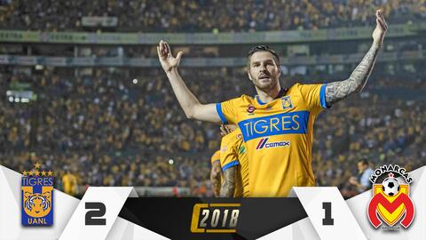 Gignac fue pieza clave en la victoria de Tigres.
