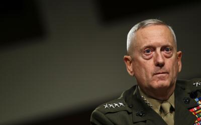 James Mattis, general retirado de la Marina estadounidense, conocido com...