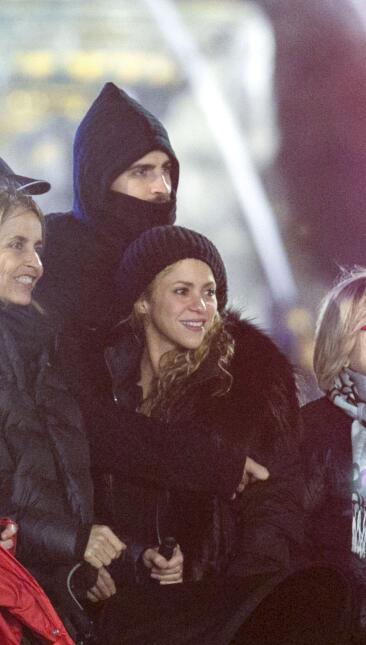 Así despiden el año Shakira y Gerard Piqué.