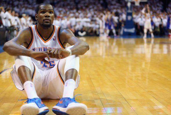 20.- Al final de la lista se encuentra, Kevin Durant con  la nada despre...