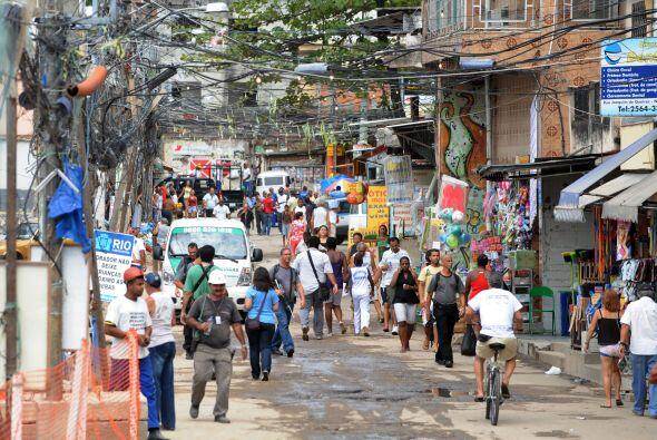 El gobierno local de Río de Janeiro  instaló una sede de la Unidad de Po...