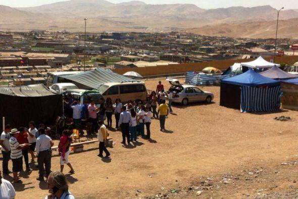 Don Francisco visitó una de las zonas más castigadas por el terremoto en...