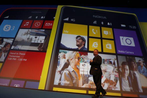 El Nokia Lumia 1020: con un diseño liviano y divertido, posee una...