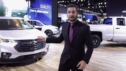 Chevrolet muestra todos los vehículos disponibles con el nuevo paquete R...
