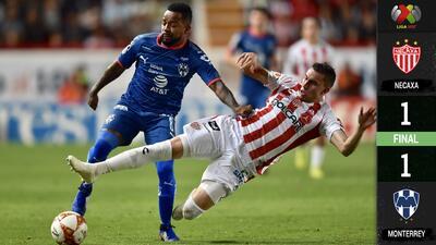 A pesar del empate ante Necaxa, Rayados presume boleto para la Liguilla