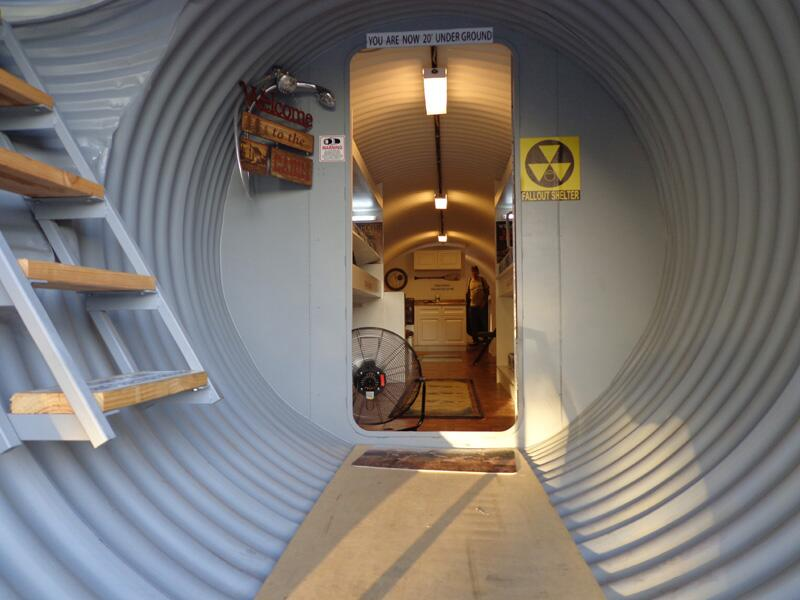 Fabricante de búnkeres asegura que el miedo a una guerra nuclear ha disp...