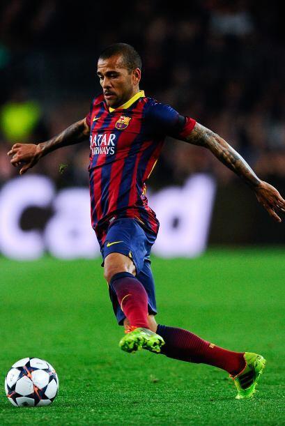 Daniel Alves, un lateral que lo dejó todo con el Barça, pe...