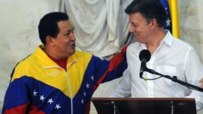 Tras el encuentro entre Hugo Chávez y Juan Manuel Santos, las relaciones...