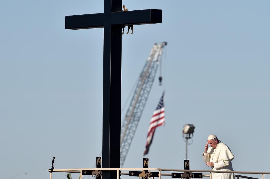 Papa visita Ciudad Juárez