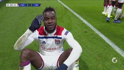 ¡Cornet firma el doblete y recupera la ventaja para el Olympique!