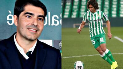"""Presidente le deja claro a Diego Lainez: """"El Betis no es un equipo, es una forma de vivir"""""""