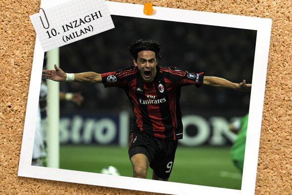Un veterano romperredes italiano hizo historia, Filippo Inzaghi, quien h...