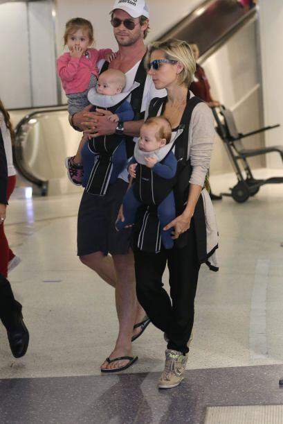 La pareja de actores jamás se imaginó que un par de lindos bebés llegarí...