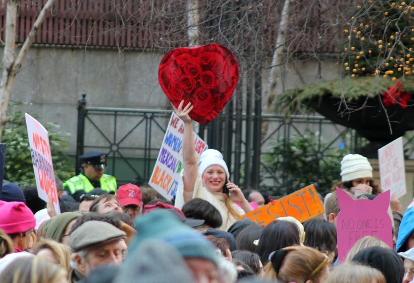 Esta marcha buscó unir a miles en defensa de los derechos reprodu...