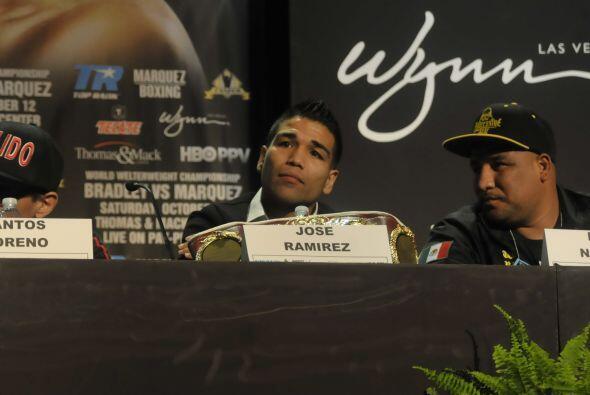 Ramírez tiene una marca de 24 triunfos, dos derrotas, dos empates y 15 n...
