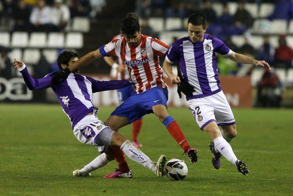 Entre otros partidos, el Atlético de Madrid visitó al Valladolid.