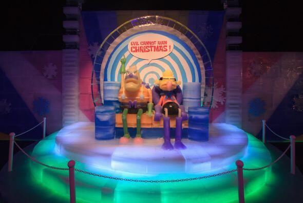 La esponja favorita de los niños ya está en Ice Land, una exhibición de...