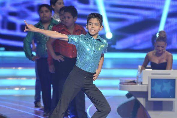 Los peques sorprenden a los jueces con su gran talento para bailar.