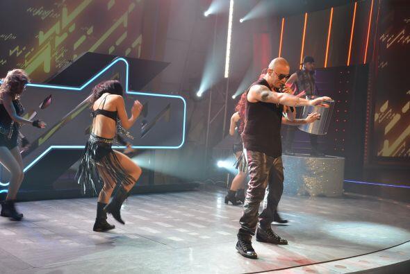 Cuando el show comenzó, la adrenalina subió al máximo en el programa.
