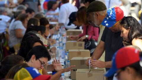 Más de siete millones de venezolanos votaron en plebiscito este domingo.