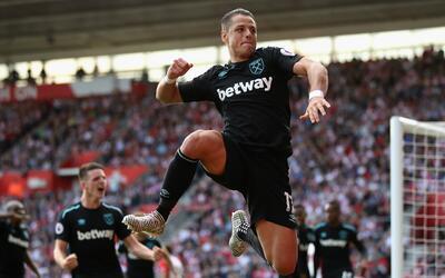 'Chicharito' hizo su primer doblete con el West Ham pero pierden ante el...