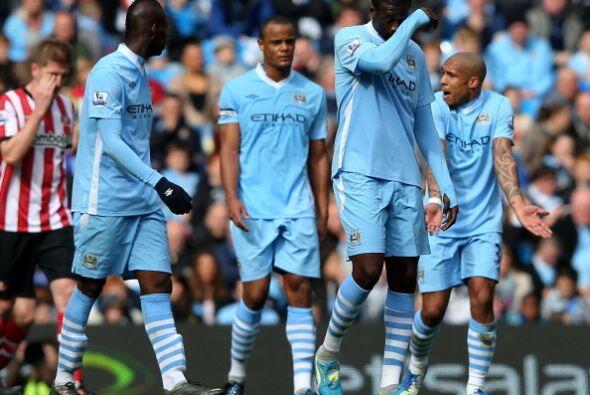 Manchester City dejó pasar una buena chance y ahora se lamenta.