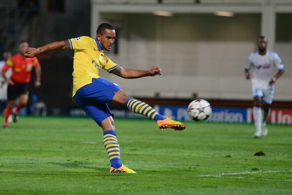 Arsenal fue contundente en su visita a Francia, donde enfrentaba al Olym...