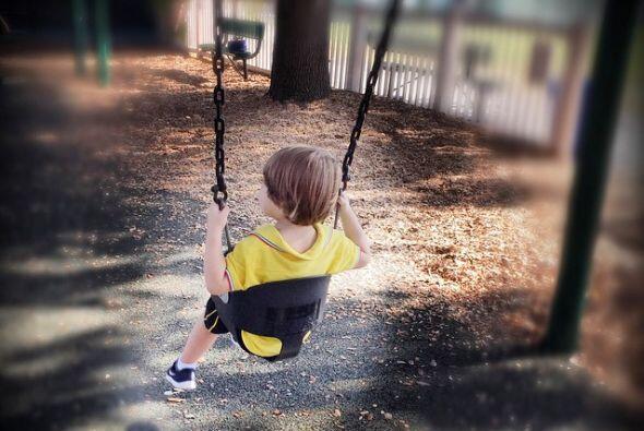 En el parque con Matthew.