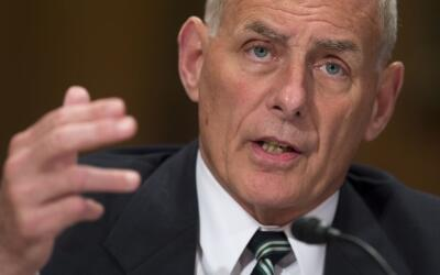 General John Kelly,  Jefe de Despacho de la Casa Blanca.